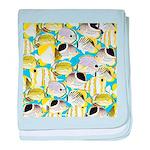 ButterflyfishPattern1 baby blanket