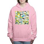 ButterflyfishPattern1 Women's Hooded Sweatshirt