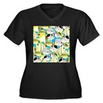 ButterflyfishPattern1 Plus Size T-Shirt