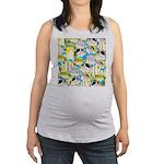 ButterflyfishPattern1 Maternity Tank Top
