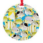 ButterflyfishPattern1 Ornament