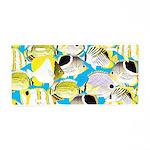 ButterflyfishPattern1 Aluminum License Plate