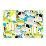 ButterflyfishPattern1 Postcards (Package of 8)