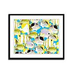 ButterflyfishPattern1 Framed Panel Print