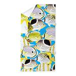 ButterflyfishPattern1 Beach Towel