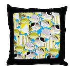 ButterflyfishPattern1 Throw Pillow