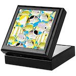 ButterflyfishPattern1 Keepsake Box