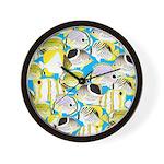 ButterflyfishPattern1 Wall Clock