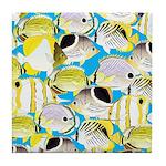 ButterflyfishPattern1 Tile Coaster