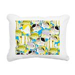ButterflyfishPattern1 Rectangular Canvas Pillow