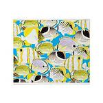 ButterflyfishPattern1 Throw Blanket