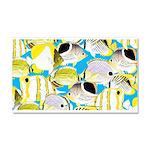 ButterflyfishPattern1 Car Magnet 20 x 12