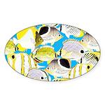 ButterflyfishPattern1 Sticker