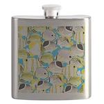ButterflyfishPattern1 Flask