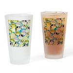 ButterflyfishPattern1 Drinking Glass