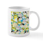 ButterflyfishPattern1 Mugs