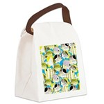 ButterflyfishPattern1 Canvas Lunch Bag