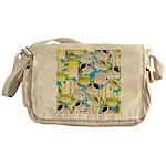 ButterflyfishPattern1 Messenger Bag