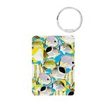 ButterflyfishPattern1 Keychains