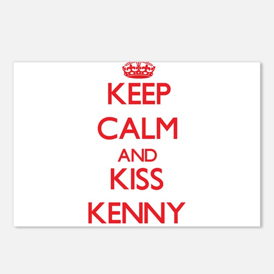 Keep Calm and Kiss Kenny Postcards (Package of 8)