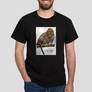 Sri Lankan Leopard Dark T-Shirt