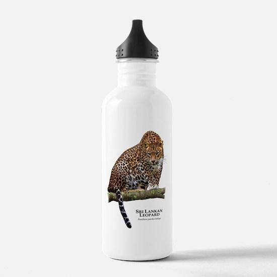 Sri Lankan Leopard Water Bottle