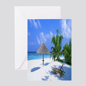 Beach Rest Greeting Cards