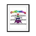 OutCasting - OCMedia Framed Panel Print