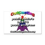 OutCasting - OCMedia Rectangle Car Magnet
