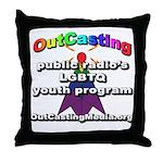 OutCasting - OCMedia Throw Pillow