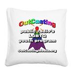 OutCasting - OCMedia Square Canvas Pillow