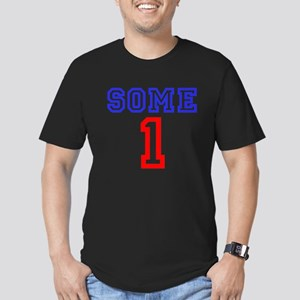 SOME 1 Men's Fitted T-Shirt (dark)