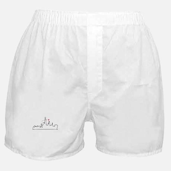 Chicago Skyline Boxer Shorts