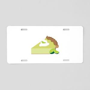 Key Lime Pie Aluminum License Plate