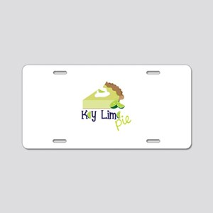 Key Lime Pie! Aluminum License Plate