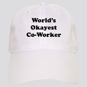 World's Okayest Worker Baseball Cap