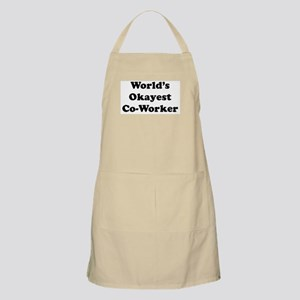 World's Okayest Worker Apron