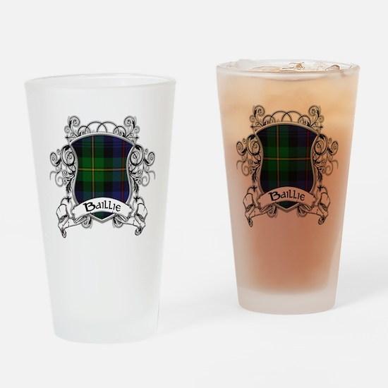 Baillie Tartan Shield Drinking Glass