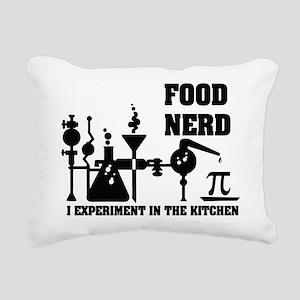 Food Nerd Rectangular Canvas Pillow