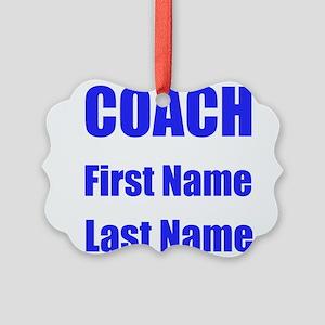 Coach Ornament