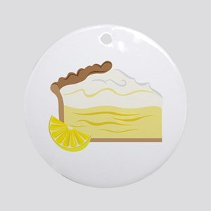 Lemon Pie Ornament (Round)