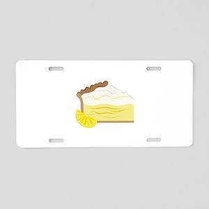 Lemon Pie Aluminum License Plate