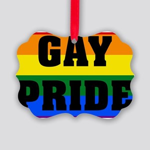 GAY pride Ornament
