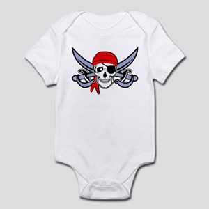 Pirate - Skull with Crossed Swords Infant Bodysuit
