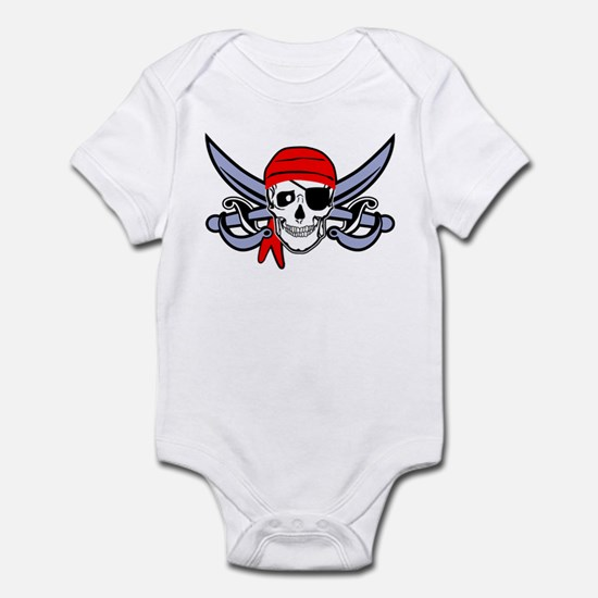 Pirate - Skull with Crossed Swords Infant Bodysuit