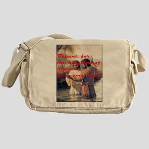 John The Baptist Messenger Bag