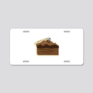 Chocolate Pie Aluminum License Plate