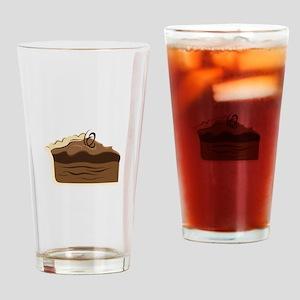 Chocolate Pie Drinking Glass