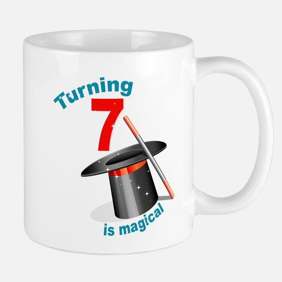 7th Birthday Magical Mug