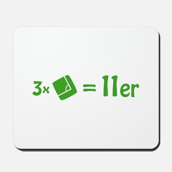 3 corner 1 penalty Mousepad